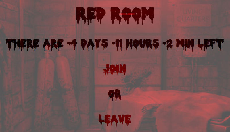 Red Room deep web