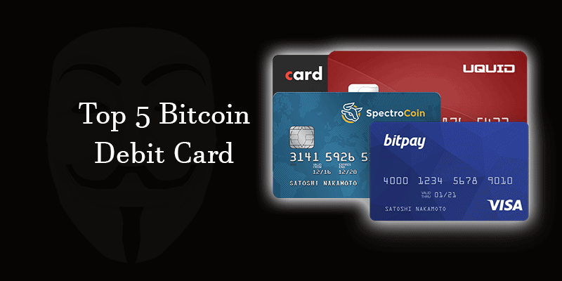 Bitcoin Debit Cards