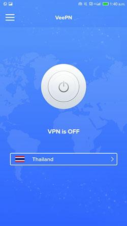 VeePN User Interface