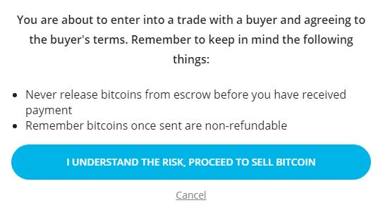 How to Sell BTC online